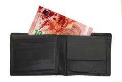 Nieuw tien euro bankbiljet, close-up Royalty-vrije Stock Afbeelding