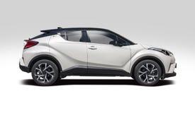 Nieuw Toyota c-u SUV Stock Foto