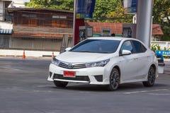 Nieuw Toyota Corolla Altis stock foto's