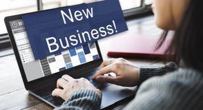 Nieuw van de Start bedrijfslanceringsinnovatie Concept Royalty-vrije Stock Foto