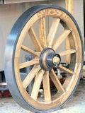 Nieuw Wagenwiel Stock Foto