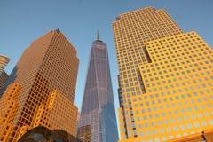 Nieuw World Trade Center Stock Afbeelding