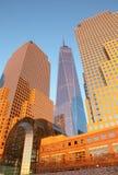 Nieuw World Trade Center Stock Foto's