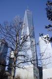 Nieuw World Trade Center Royalty-vrije Stock Afbeeldingen