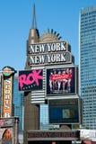 Nieuw York-Nieuw York op de Strook van Las Vegas Royalty-vrije Stock Fotografie