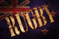 Nieuw Zeeland rugby Stock Foto