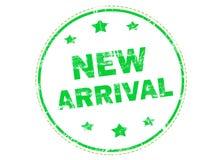 Nieuwe aankomst grunge rubberzegel Stock Foto