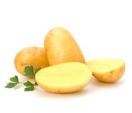 Nieuwe aardappel Stock Afbeelding