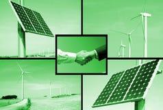 Nieuwe alaternative energie Stock Fotografie