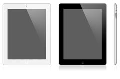 Nieuwe Appel iPad 2 Royalty-vrije Stock Afbeeldingen