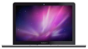 Nieuwe Appel MacBook Pro royalty-vrije illustratie
