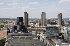 Nieuwe architectuur van Londen het UK Europa Stock Foto