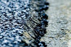 Nieuwe asfaltlaag royalty-vrije stock afbeelding