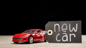 Nieuwe auto stock foto's