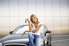 Nieuwe auto Royalty-vrije Stock Afbeelding