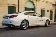 Nieuwe auto Mazda 6 Stock Foto's