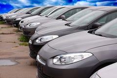 Nieuwe auto's Royalty-vrije Stock Foto's