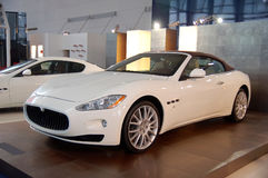 Nieuwe auto's Maserati Stock Afbeeldingen