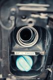 Nieuwe B7 die voor de EU-brandstof 4 merken stock afbeelding
