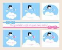 Nieuwe Baby Stock Foto