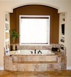 Nieuwe badkamers Stock Foto's