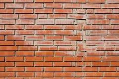 Nieuwe bakstenen muur Stock Fotografie