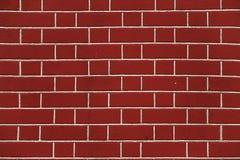 Nieuwe bakstenen muur royalty-vrije stock fotografie
