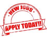 Nieuwe banen vector illustratie