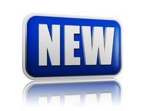 Nieuwe banner Stock Foto
