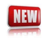 Nieuwe banner Royalty-vrije Stock Foto's