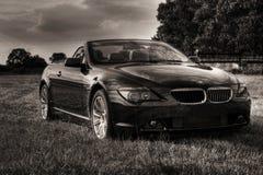 Nieuwe BMWcabriolet gestemd sepia Royalty-vrije Stock Foto's