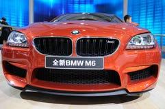 Nieuwe BMWm6 voorzijde Stock Fotografie