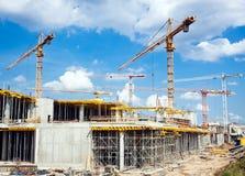 Nieuwe bouw Royalty-vrije Stock Afbeelding