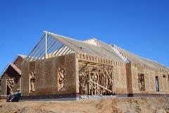 Nieuwe bouw Royalty-vrije Stock Foto's