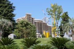 Nieuwe bouw in Batumi, Georgië Stock Foto's
