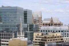 Nieuwe bouw in Londen het UK Europa Stock Afbeeldingen