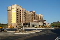 Nieuwe bouwconstructie stock foto's