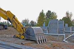 Nieuwe bouwwerf Royalty-vrije Stock Afbeelding