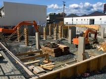 Nieuwe bouwwerf Royalty-vrije Stock Foto's