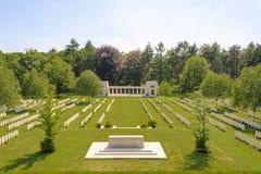 Nieuwe Britse Begraafplaatswereldoorlog 1 de gebieden van Vlaanderen royalty-vrije stock foto's