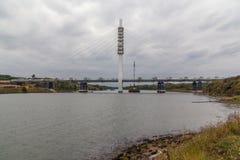 Nieuwe brug Stock Foto