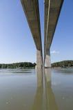 Nieuwe brug Royalty-vrije Stock Fotografie