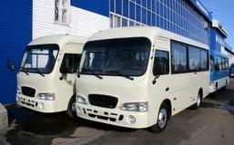 Nieuwe bussen Stock Afbeelding