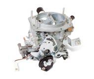 Nieuwe carburator op wit Stock Fotografie