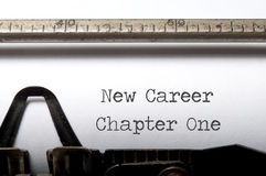 Nieuwe carrière