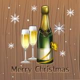 Nieuwe champagne Royalty-vrije Stock Afbeeldingen