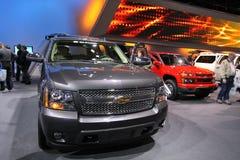 Nieuwe Chevrolet Tahoe 2011 royalty-vrije stock afbeeldingen