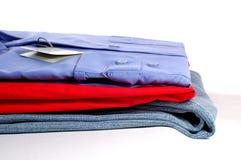 Nieuwe clothers Stock Foto's