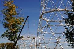 Nieuwe Communicatie toren Stock Foto