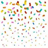 Nieuwe confettienachtergrond Royalty-vrije Stock Afbeeldingen